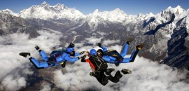 Everest skydive in Nepal photo everstskydive.comEverest skydive in Nepal photo everstskydive.com