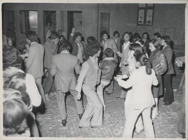Kathmandu elites having good time in 1969
