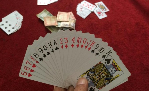 Always fun to play this wonderful Nepali card game 'marriage'