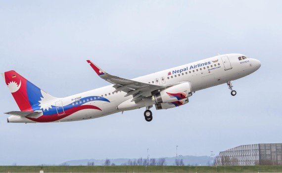National Flag Carrier Nepal Airlines Currently Has 4 Fleets For Int'l Flights. (Picture Courtesy : Airbus.com)