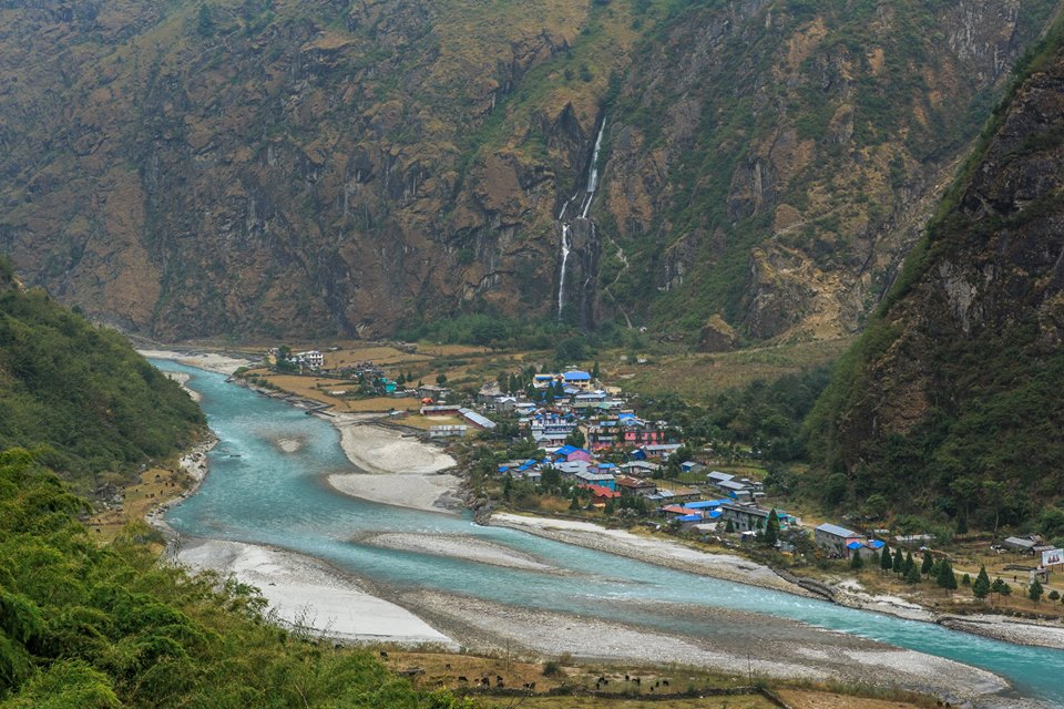 1 A Piece Of Heaven Fallen At Taal Village, Manang District (Photo Prakash Budha)