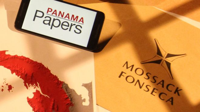 The Panama Papers (Image: BBC)