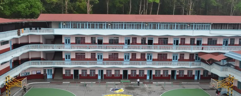 St Augustine School at Kalimpong where Bipul did his schooling from. (Photo saskalimpong.com)