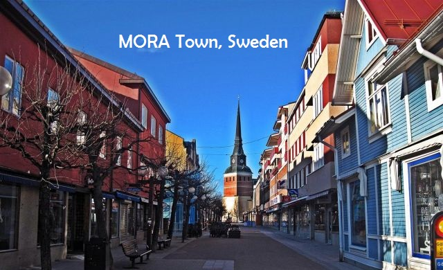 Mora, a small town in Sweden (Photo wikipedia)