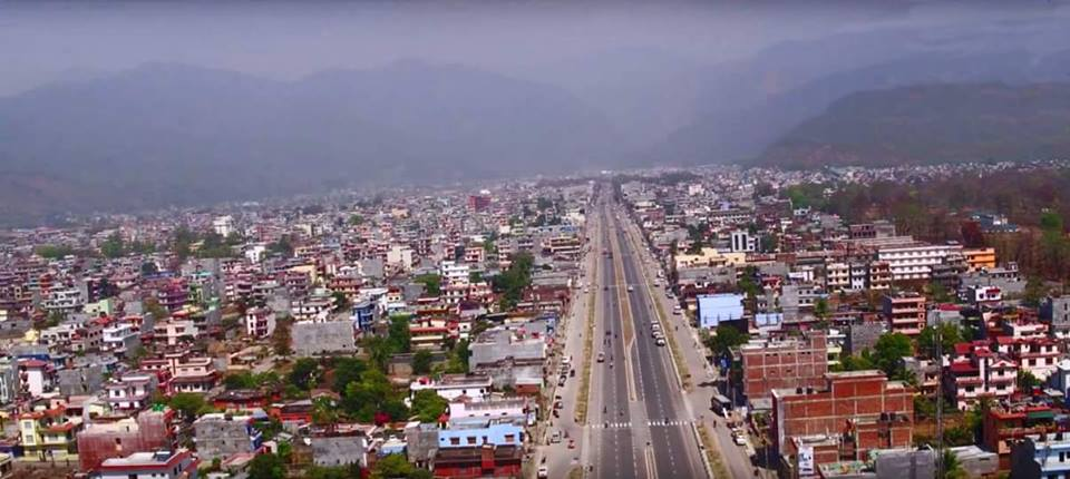Butwal - Jogikuti Road (Photo FB page Butwal)