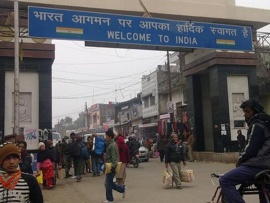 Nepal India border Sunauli