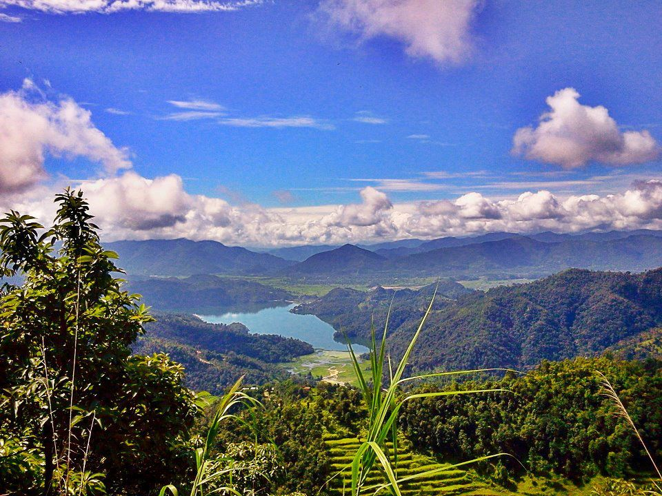 Spectacular view of Begnas lake. Photo: unknown/Found on facebook. (Please do let us know who took this amazing shot)