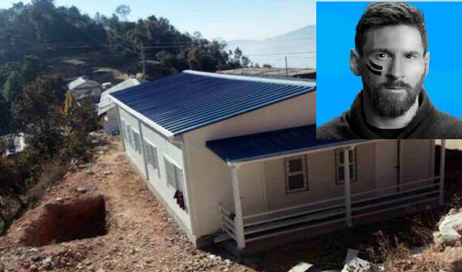 Messi Foundation building 14 health centers in Nepal along with UNICEF