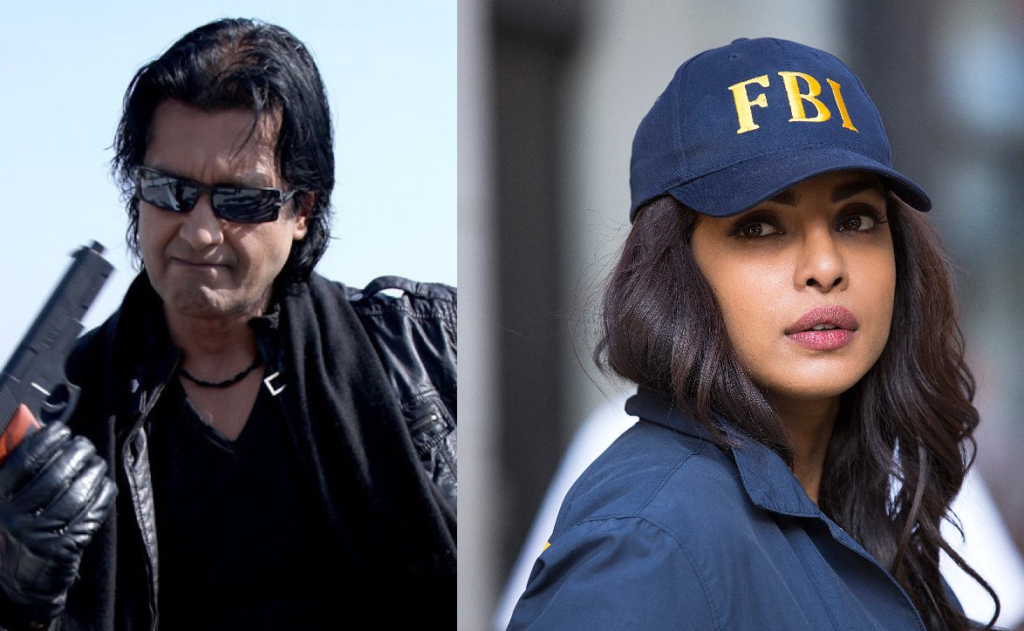 Rajesh Hamal and Priyanka Chopra in Quantico Season 3