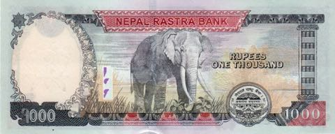 Rs 1000 Nepal