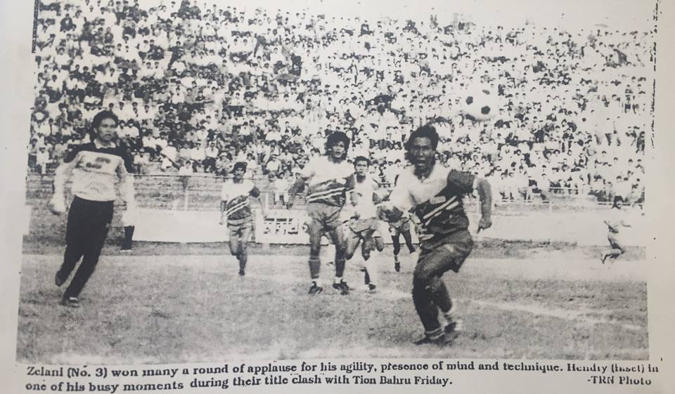 Janakapur was one big name Nepal's domestic football and cricket where it was dominated by Kathmandu based clubs. This is just a representative picture of Nepal vs Malaysia football match where Ganesh Thapa, Mani Shah and Umesh Pradhan can be seen (Photo Mani Shah Facebook)
