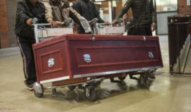 Everyday 3-5 coffins arrive in Kathmandu airport (Photo ekantipur)
